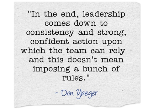 Don Yaeger Quote
