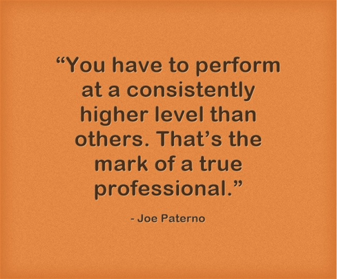 Joe Paterno Quote
