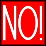 NO_sign