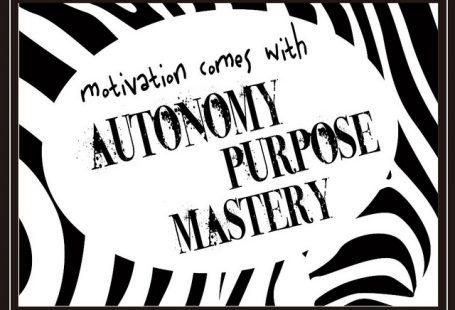 Mastery autonomy purpose