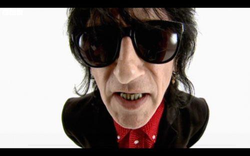 Evidently John Cooper Clarke on BBC Punk Britannia performing Beasley Street